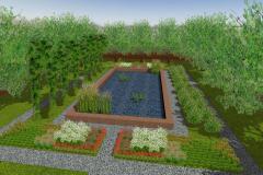 Ogród w stylu egipskim